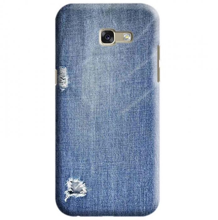 Husa Samsung Galaxy A5 2017 Custom Hard Case Blue Jeans 0