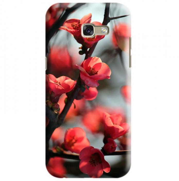 Husa Samsung Galaxy A5 2017 Custom Hard Case Cherry Flowers 0