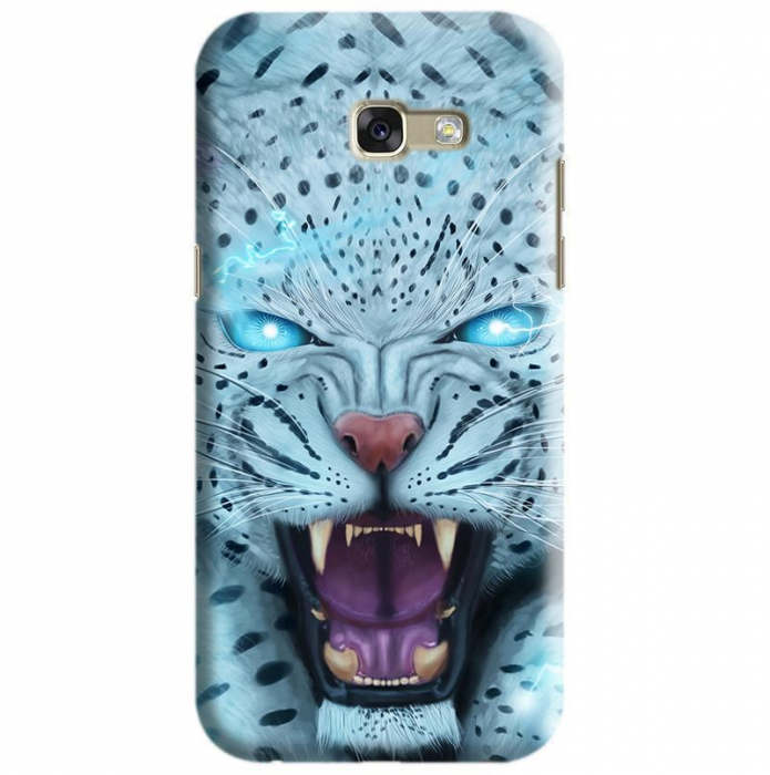Husa Samsung Galaxy A5 2017 Custom Hard Case Blue Beast 0