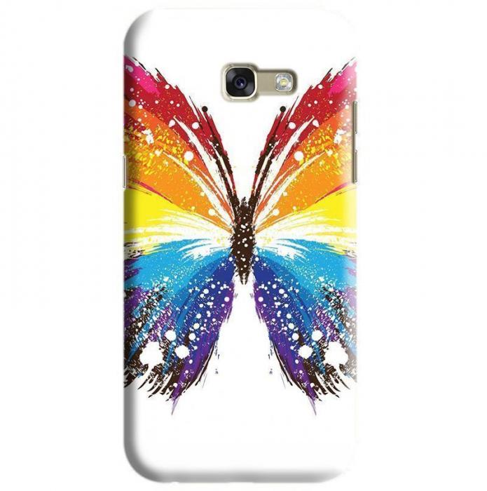 Husa Samsung Galaxy A5 2017 Custom Hard Case Butterfly 0
