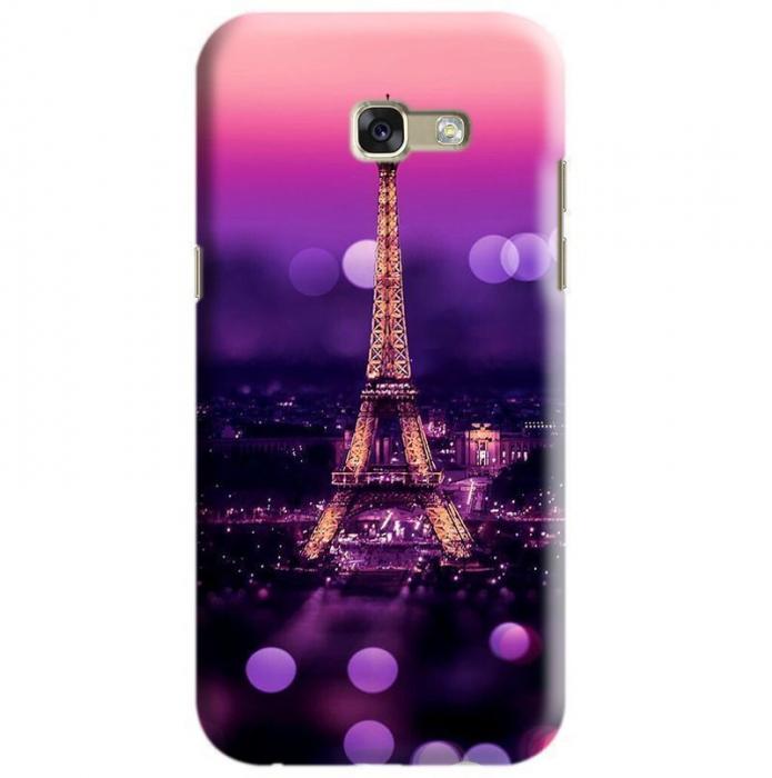 Husa Samsung Galaxy A5 2017 Custom Hard Case Eiffel Tower 0