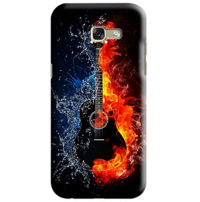 Husa Samsung Galaxy A5 2017 Custom Hard Case Guitar 0