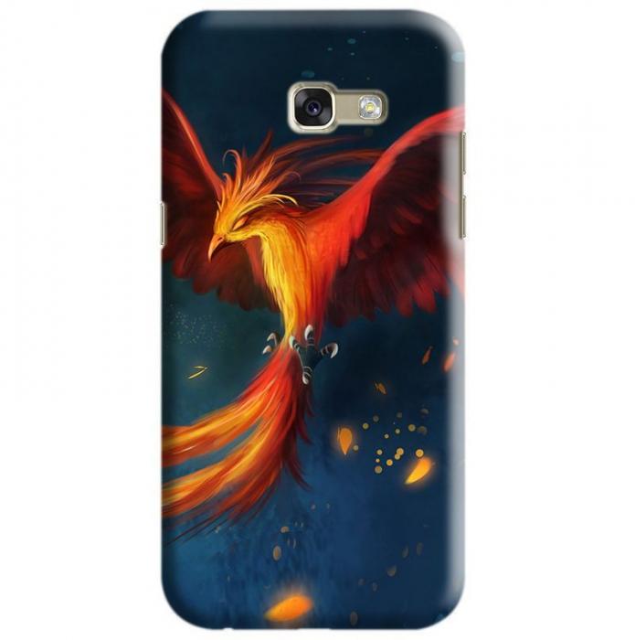 Husa Samsung Galaxy A5 2017 Custom Hard Case Phoenix Bird 0