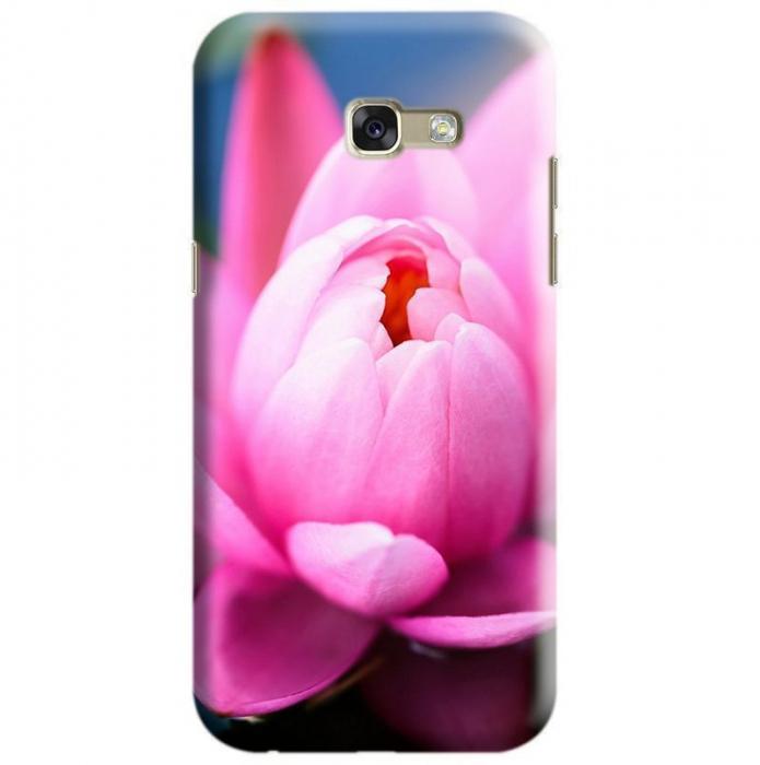 Husa Samsung Galaxy A5 2017 Custom Hard Case Pink Lily 0