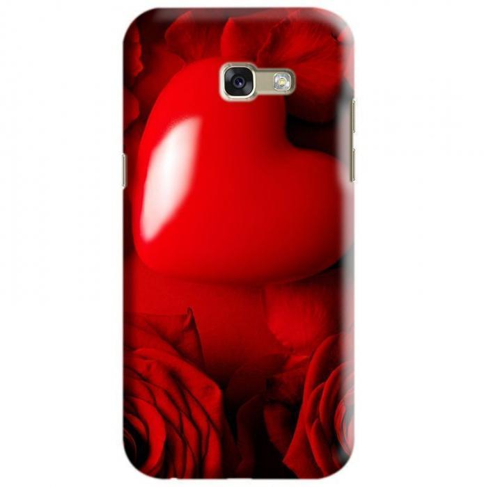 Husa Samsung Galaxy A5 2017 Custom Hard Case Red Heart [0]