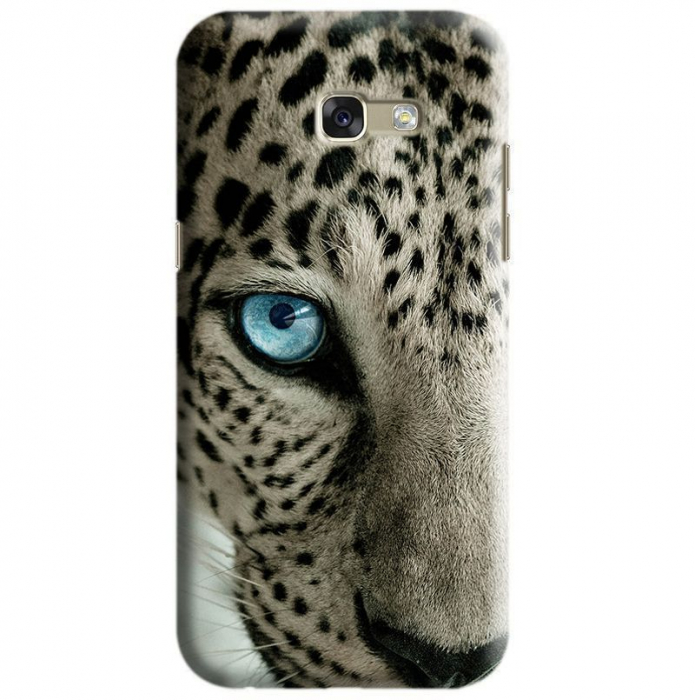 Husa Samsung Galaxy A5 2017 Custom Hard Case Snow Leopard 0