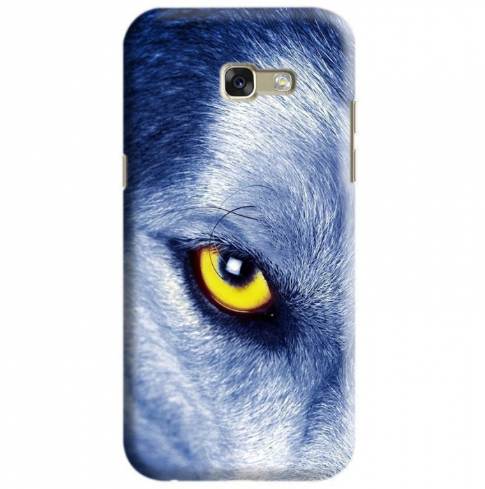 Husa Samsung Galaxy A5 2017 Custom Hard Case Wolf Eye 0