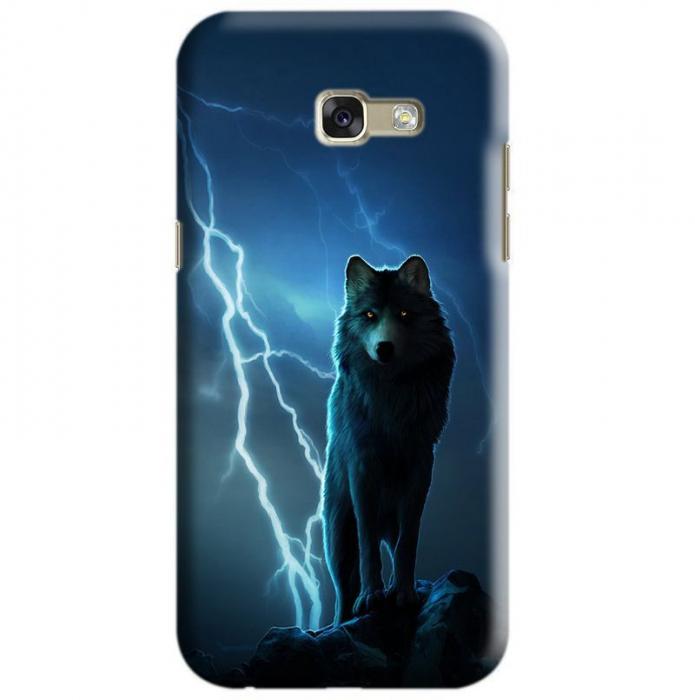 Husa Samsung Galaxy A5 2017 Custom Hard Case Wolf 0