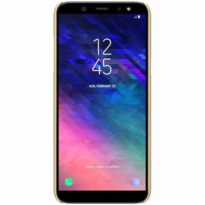Husa  Samsung Galaxy  A6 (2018) Nillkin Frosted Shield - gold 4