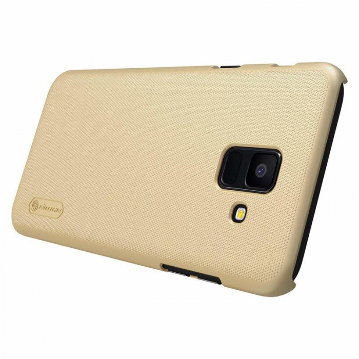 Husa  Samsung Galaxy  A6 (2018) Nillkin Frosted Shield - gold 2