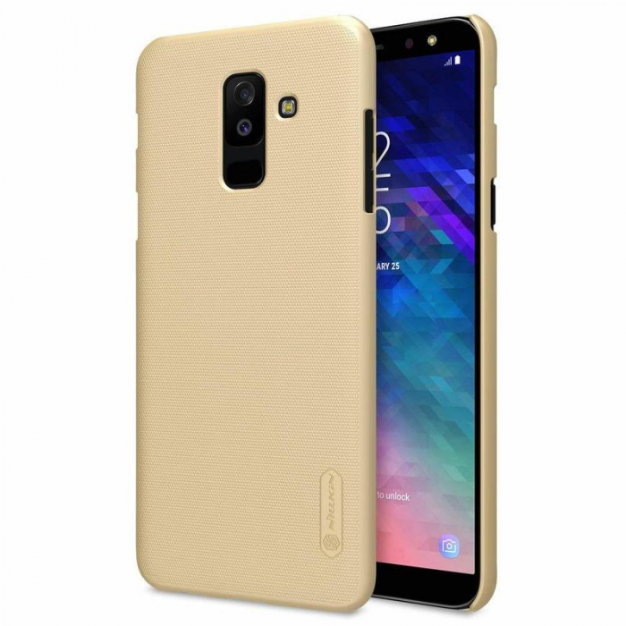 Husa   Samsung Galaxy  A6 Plus (2018) Nillkin Frosted Shield - gold 0