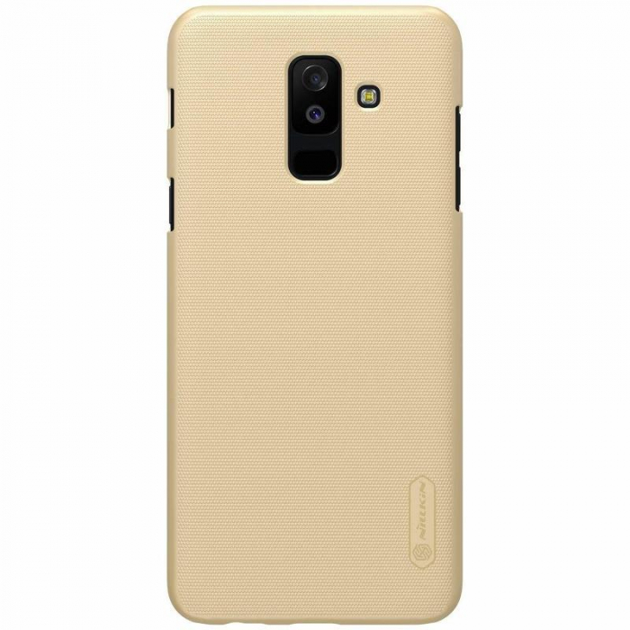 Husa   Samsung Galaxy  A6 Plus (2018) Nillkin Frosted Shield - gold 1