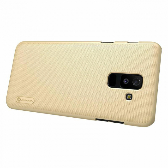 Husa   Samsung Galaxy  A6 Plus (2018) Nillkin Frosted Shield - gold 5