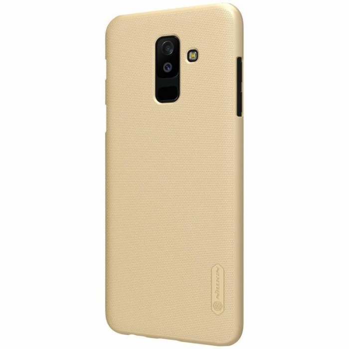 Husa   Samsung Galaxy  A6 Plus (2018) Nillkin Frosted Shield - gold 2