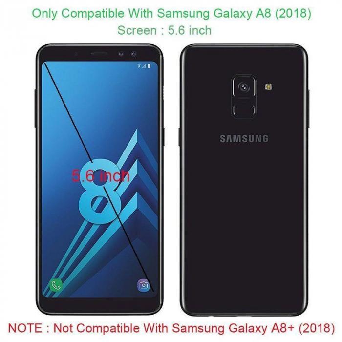 Husa  Samsung Galaxy A8 (2018) - Dux Ducis din piele eco - rose gold 5