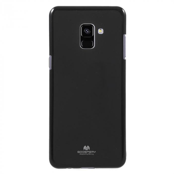 Husa Samsung Galaxy A8 2018 Mercury Jelly Case TPU  - negru 0