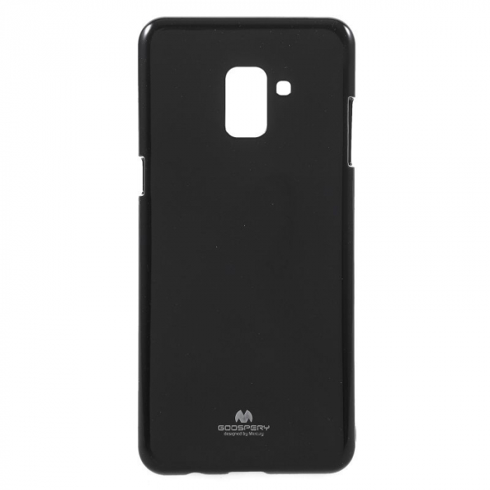 Husa Samsung Galaxy A8 2018 Mercury Jelly Case TPU  - negru 1