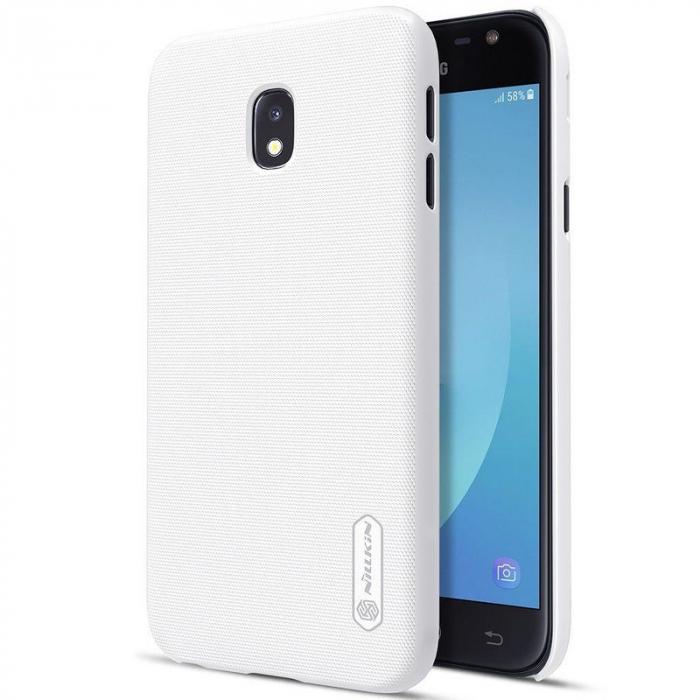 Husa Samsung Galaxy J3 2017 - Nillkin Frosted Shield - alb 0