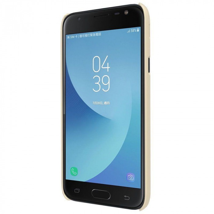 Husa Samsung Galaxy J3 2017 - Nillkin Frosted Shield - gold 2