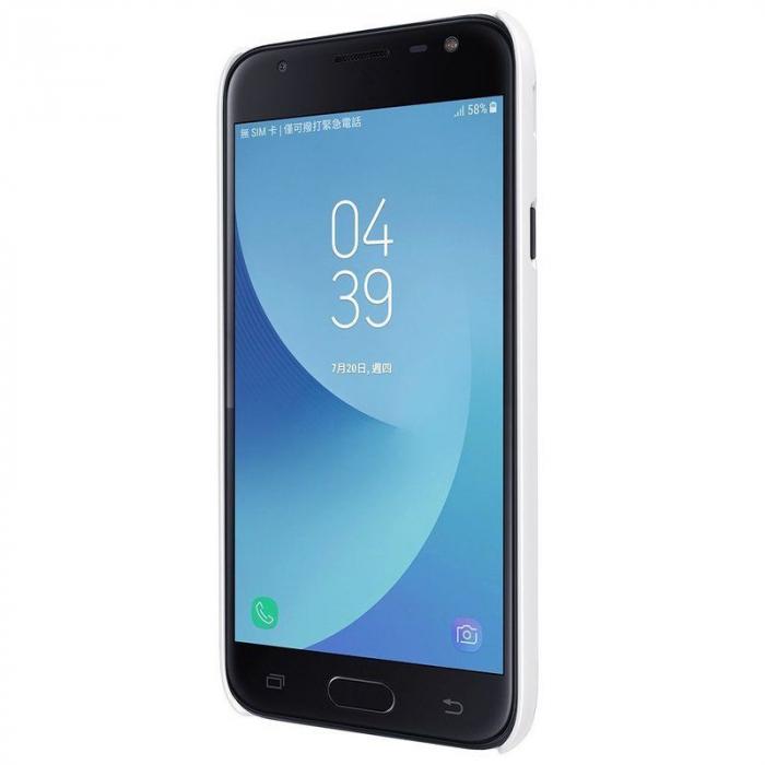Husa Samsung Galaxy J3 2017 - Nillkin Frosted Shield - alb 3