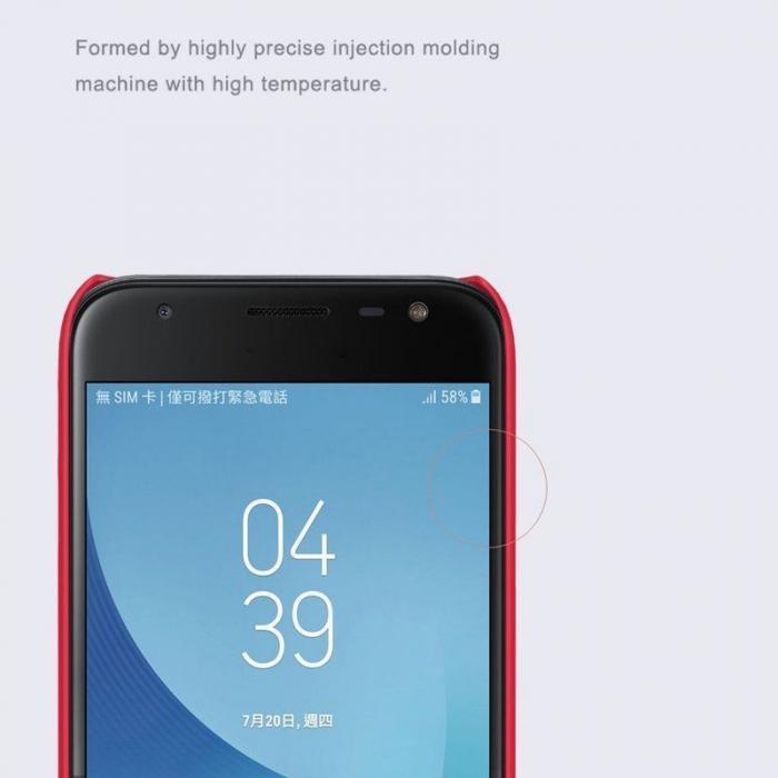 Husa Samsung Galaxy J3 2017 - Nillkin Frosted Shield - rosu 5