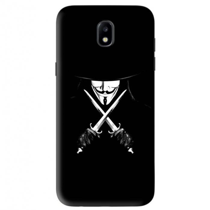 Husa Samsung Galaxy J5 2017 Custom Hard Case Anonymous 2 0