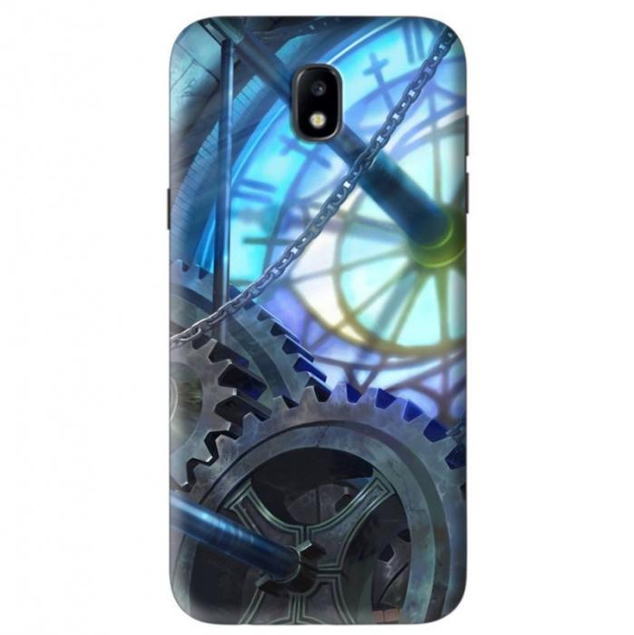 Husa Samsung Galaxy J5 2017 Custom Hard Case Blue Steampunk 0