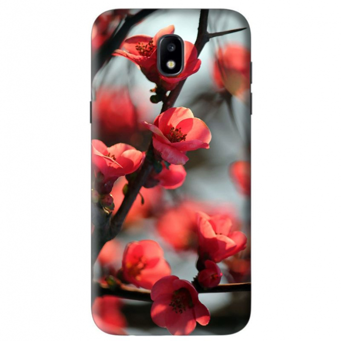 Husa Samsung Galaxy J5 2017 Custom Hard Case Cherry Flowers 0