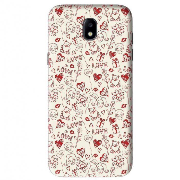 Husa Samsung Galaxy J5 2017 Custom Hard Case Love Pattern 2 0