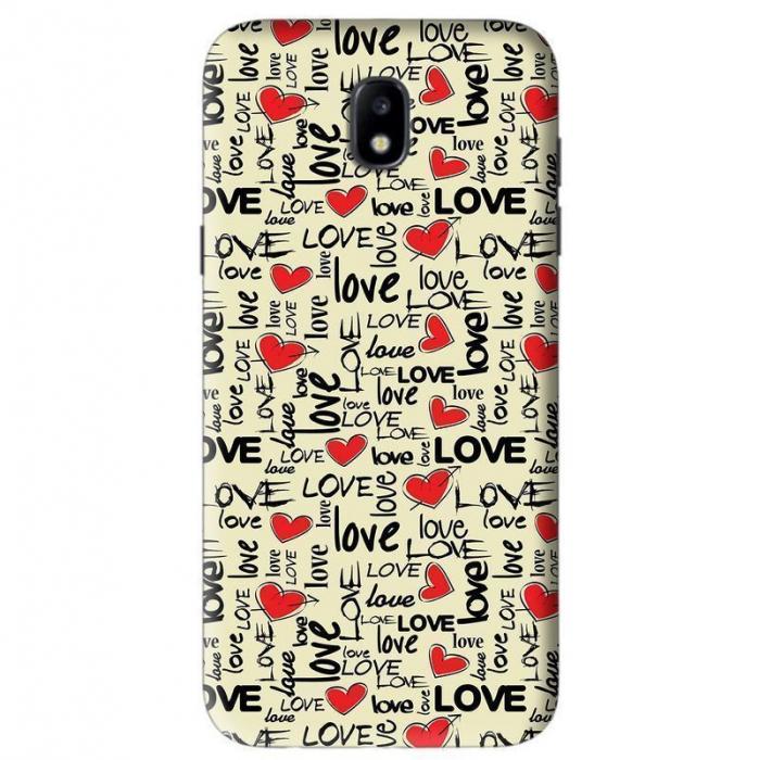 Husa Samsung Galaxy J5 2017 Custom Hard Case Love Pattern 0