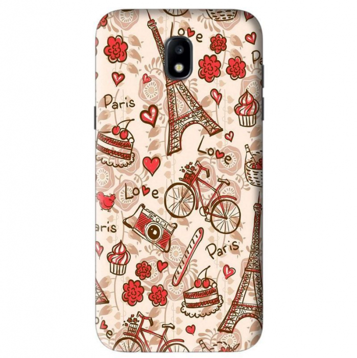 Husa Samsung Galaxy J5 2017 Custom Hard Case Love Paris [0]