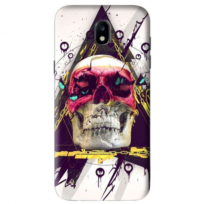 Husa Samsung Galaxy J5 2017 Custom Hard Case Skull 3 0