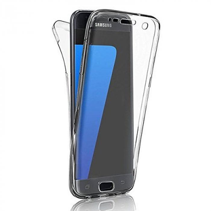 Husa  Samsung Galaxy J5 2017 Silicon TPU 360 grade - transparent 10