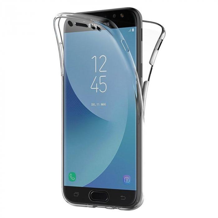 Husa  Samsung Galaxy J5 2017 Silicon TPU 360 grade - transparent 1