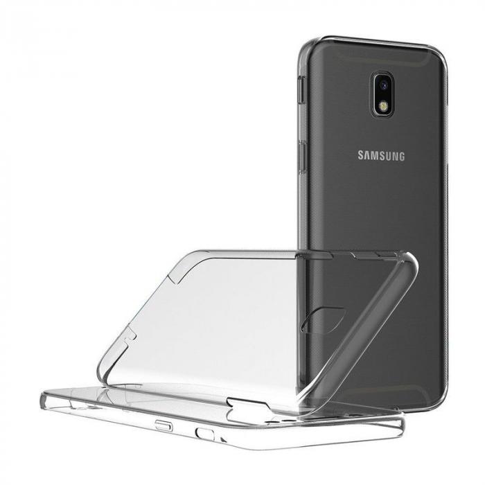 Husa  Samsung Galaxy J5 2017 Silicon TPU 360 grade - transparent 6