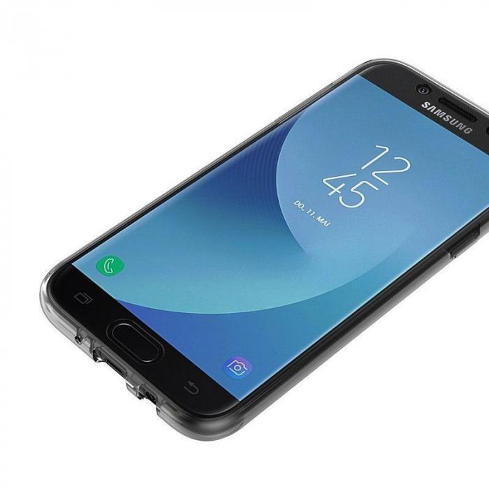 Husa  Samsung Galaxy J5 2017 Silicon TPU 360 grade - transparent 8