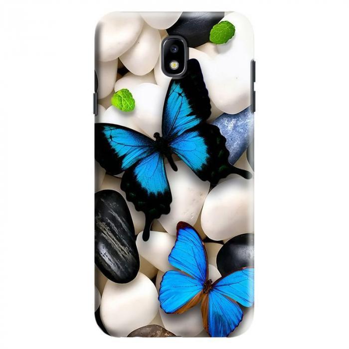 Husa Samsung Galaxy J7 2017 - Custom Hard Case Butterflys 2 0