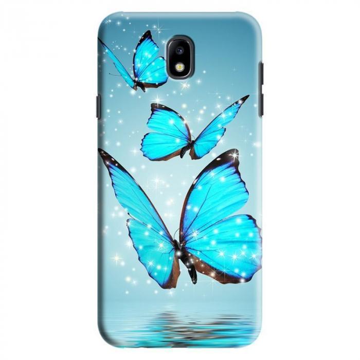 Husa Samsung Galaxy J7 2017 - Custom Hard Case Butterflys 0