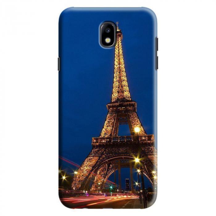 Husa Samsung Galaxy J7 2017 - Custom Hard Case Eiffel Tower 0