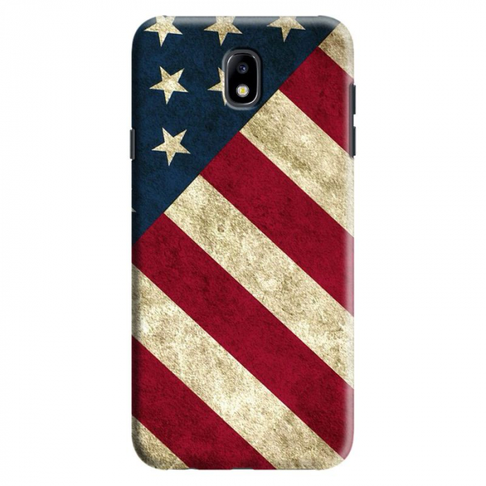 Husa Samsung Galaxy J7 2017 - Custom Hard Case Flag US 0