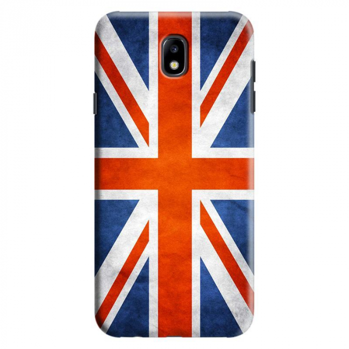 Husa Samsung Galaxy J7 2017 - Custom Hard Case Flag UK 0
