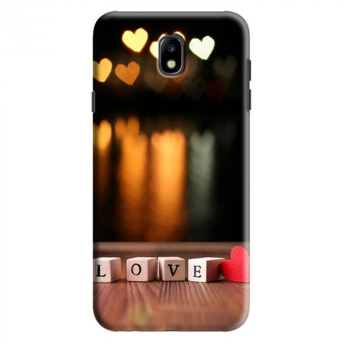 Husa Samsung Galaxy J7 2017 - Custom Hard Case Love  0