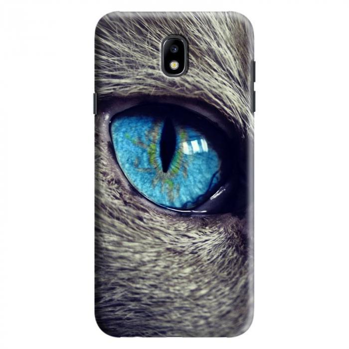Husa Samsung Galaxy J7 2017 - Custom Hard Case Cat Eye 0
