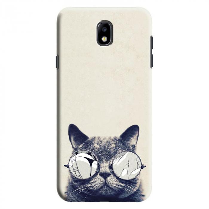 Husa Samsung Galaxy J7 2017 - Custom Hard Case Cool Cat 0
