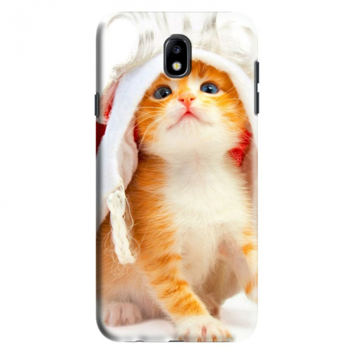 Husa Samsung Galaxy J7 2017 - Custom Hard Case Cute Cat 0