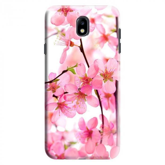 Husa Samsung Galaxy J7 2017 - Custom Hard Pink Flowers 0