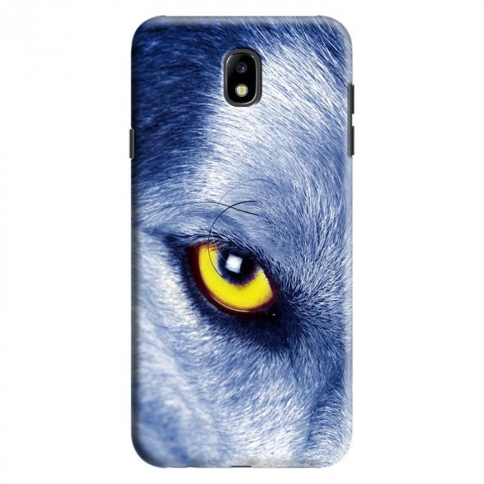 Husa Samsung Galaxy J7 2017 - Custom Hard Wolf Eye 0