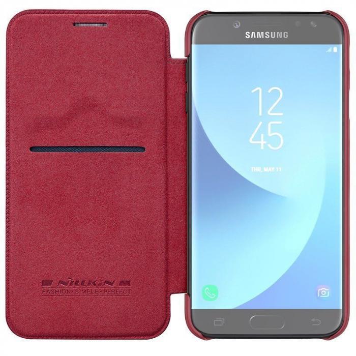 Husa  Samsung Galaxy J7 2017 Nillkin Qin - rosu 5