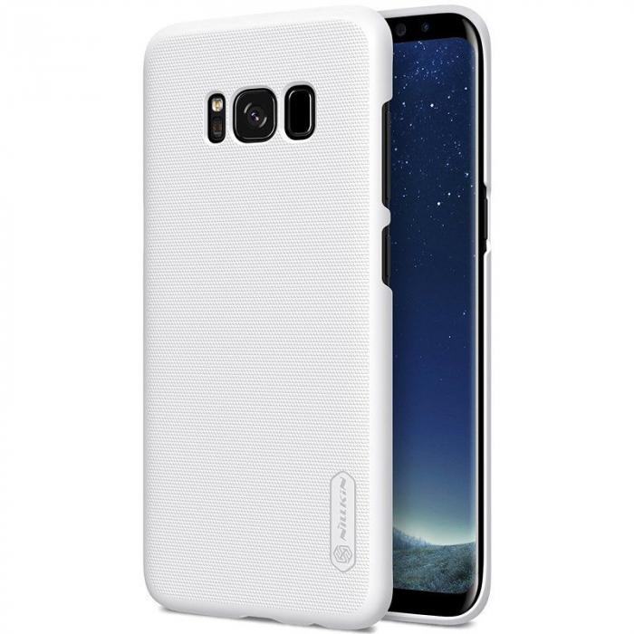 Husa  Samsung Galaxy S8 Nillkin Frosted Shield - alb 0