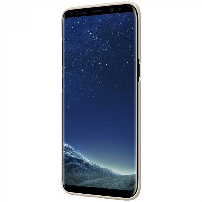 Husa  Samsung Galaxy S8 Nillkin Frosted Shield - gold 4